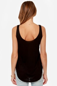 Billabong Cooladas Black Tank Top at Lulus.com!