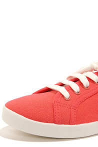 Cooper 01 Pomegrande Pink Lace-Up Sneakers at Lulus.com!