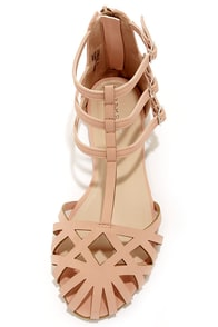 Bamboo Lynna 80 Rose Pink Suede Sandals at Lulus.com!