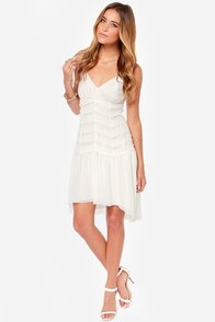 Black Swan Alice Ivory Lace Midi Dress at Lulus.com!
