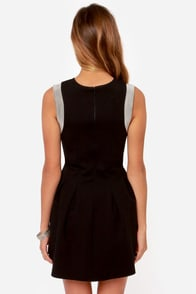 Million Dollar Dame Black Dress at Lulus.com!