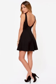 Pish Posh Black Dress at Lulus.com!