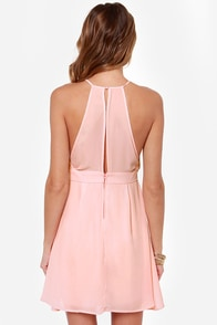LULUS Exclusive Lacy Lass Pink Dress at Lulus.com!