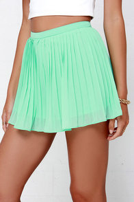 Sweetly Summoned Mint Green Shorts at Lulus.com!