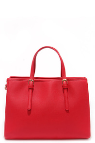 Michelle Red Handbag at Lulus.com!