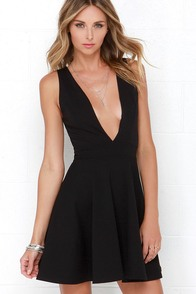 I Do Love You Black Dress at Lulus.com!