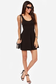 Tower Hotel Black Dress at Lulus.com!