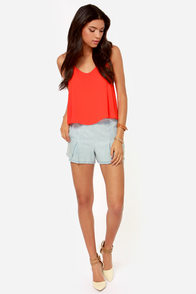 Lipstick with It Red Tank Top at Lulus.com!