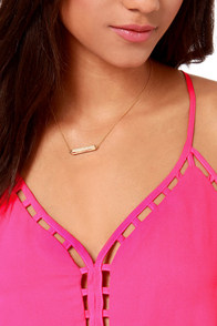 Flow Along Cutout Magenta Dress at Lulus.com!