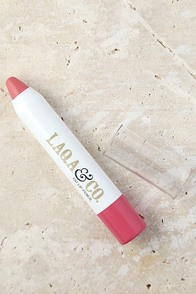 LAQA & Co. Doppelganger Petal Pink Fat Lip Pencil