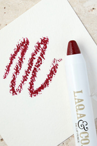 image LAQA & Co. Palate Cleanser Deep Red Fat Lip Pencil