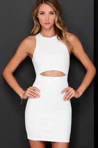 Mansion in the Sky Ivory Dress at Lulus.com!
