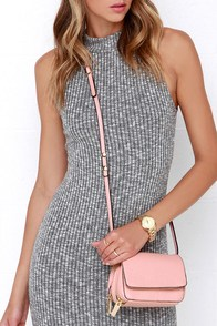 Two-Way Chic Blush Pink Purse at Lulus.com!