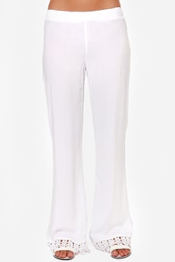 Volcom Simmer Down White Pants at Lulus.com!