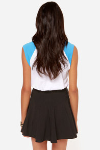 Flare Play Black Skater Skirt at Lulus.com!
