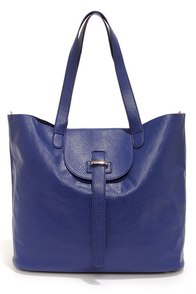 Handy Eye Candy Dark Blue Tote at Lulus.com!