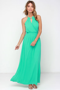 Light of My Life Mint Maxi Dress at Lulus.com!
