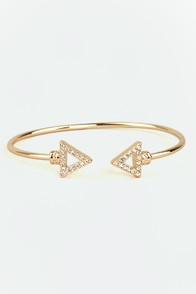 Arrows by Any Other Name Gold Bracelet at Lulus.com!