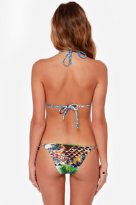 Seafolly Corsica Multi Print Bikini at Lulus.com!
