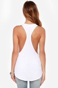 Volcom Lived In Ivory Tank Top at Lulus.com!