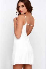 Won Way Street Ivory Dress at Lulus.com!