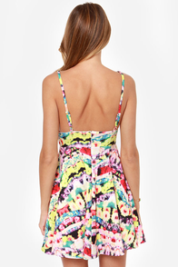 Mink Pink Spring Wave Multi Print Dress at Lulus.com!
