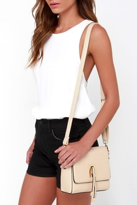 All Ties On You Beige Purse at Lulus.com!