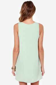 LULUS Exclusive Leaps and Bounds Mint Green Dress at Lulus.com!