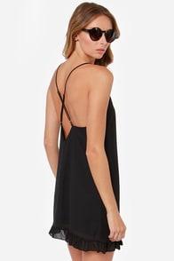 LULUS Exclusive Dream Scheme Black Dress at Lulus.com!