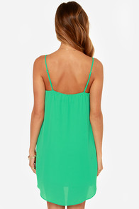 All Clover You Green Shift Dress at Lulus.com!