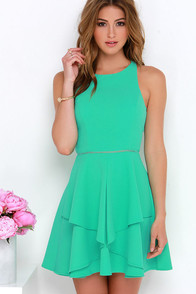 Picture Perfection Mint Green Dress at Lulus.com!