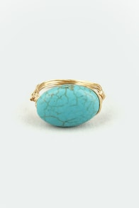 Dragon's Egg Turquoise Ring at Lulus.com!