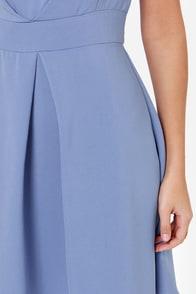 Darling Keeley Periwinkle Blue Dress at Lulus.com!