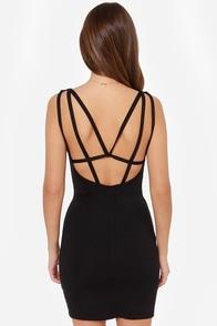 LULUS Exclusive Loop Delilah Black Bodycon Dress at Lulus.com!