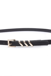 Place Your Belts Black Belt at Lulus.com!