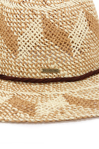 Billabong Sunbeat Summerz Beige Straw Hat at Lulus.com!