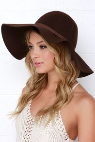 Carmen Sun Diego Brown Hat at Lulus.com!