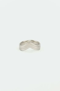 Make Like a Trio Silver Knuckle Ring Set at Lulus.com!