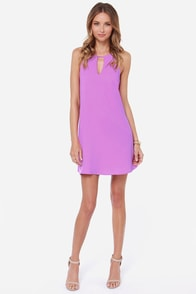 In a Good Light Purple Dress at Lulus.com!