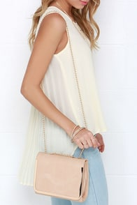 Just Splendid Beige Purse at Lulus.com!