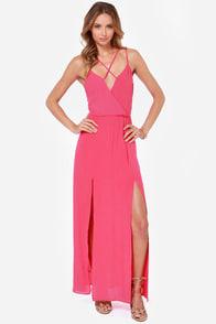 Reverse Take a Hint Fuchsia Pink Maxi Dress at Lulus.com!