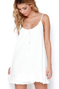 News to Me Ivory Dress at Lulus.com!