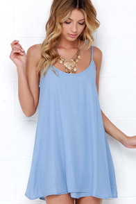 News to Me Periwinkle Dress at Lulus.com!