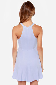 Rhythm Daisy Chain Cutout Periwinkle Blue Dress at Lulus.com!