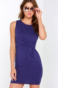 Here, There, and Everywhere Indigo Dress at Lulus.com!
