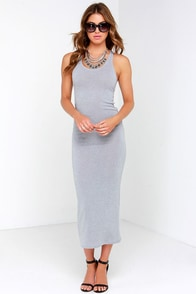 Smash Hit Grey Maxi Dress at Lulus.com!