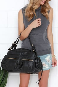 All in All Black Tote at Lulus.com!