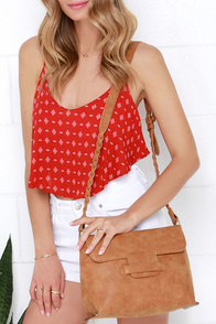 Along for the Ride Tan Purse at Lulus.com!