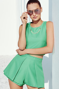 At Daybreak Green Two-Piece Set at Lulus.com!