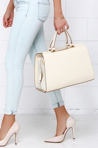 Doctor Up Cream Tote at Lulus.com!